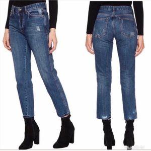 NWT Free people Slim boyfriend Jeans Size 25 26 27